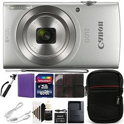Canon Ixus 185/Elph 180 20MP Compact Digital Camera Silver w