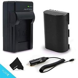 LP-E6 Battery and AC/DC Battery Charger Kit for Canon EOS 7D