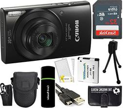 Canon PowerShot ELPH 190 IS 20.2MP 10x Zoom Wi-Fi Digital C