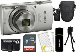Canon PowerShot ELPH 180 20MP 8X Zoom Digital Camera  + 32G