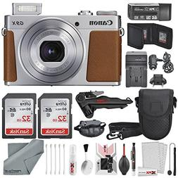 Canon PowerShot G9 X Mark II Digital Camera  Deluxe Bundle W