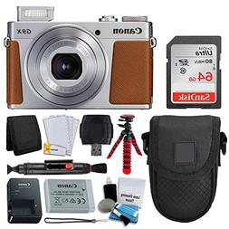 Canon PowerShot G9 X Mark II Digital Camera  + SanDisk 64GB
