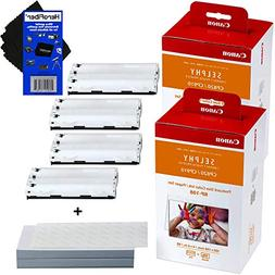Canon RP-108 High-Capacity Color Ink/Paper Set includes 216
