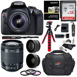 Canon T6 Digital Rebel SLR Camera Kit with EF-S 18-55mm f/3.