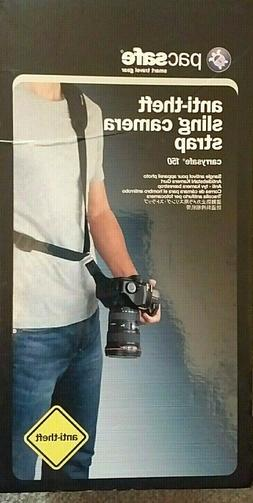 Pacsafe  Carrysafe 150 Anti-Theft Sling Camera  Strap -  Bla