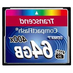 64gb Cf Card 400x, Type I
