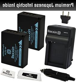 Combo Kit WT Nixxell Battery  and charger for Fujifilm NP-W1