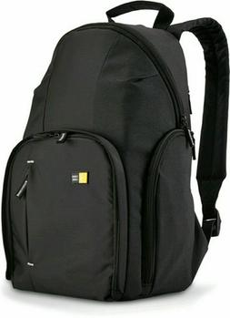 Case Logic Compact DSLR Camera Black Backpack TBC-411 / WBC-