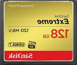 SanDisk 128GB Compact Flash  Memory Card