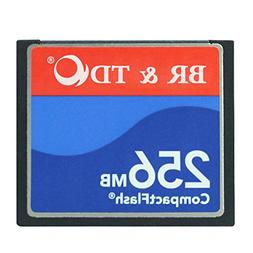Original 256MB CompactFlash memory card BR&TD camera card CN