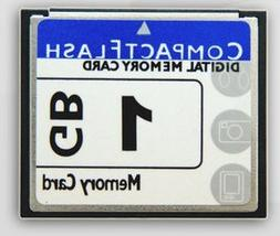Compact flash memory card 1GB use for camera