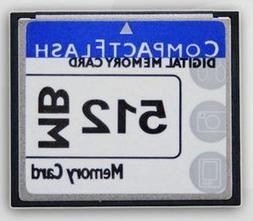 Compact flash memory card 512MB use for camera
