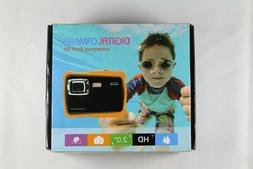compact kids waterproof digital camera 12mp 1080p