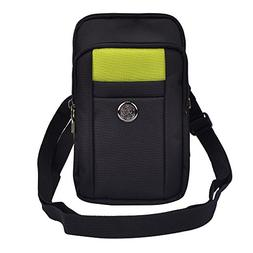 compact padded green case