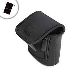 USA GEAR Compact Point and Shoot Camera Case with Scratch Re