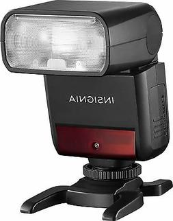 Insignia™ - Compact TTL Flash for Canon Cameras