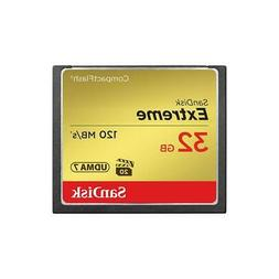 SanDisk Extreme Pro 32 GB CompactFlash  Card