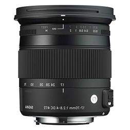 Sigma 17-70mm F2.8-4 Contemporary DC Macro OS HSM Lens for S