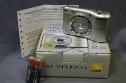 Nikon COOLPIX 16.1 MP Compact Digital Camera w/ 5x Optical Z