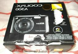 Nikon CoolPix A300 20MP Compact Digital Camera WiFi & Blueto