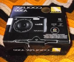 New Open Box Nikon CoolPix A300 20MP Compact Digital Camera