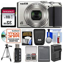 Nikon Coolpix A900 Camera  with 32GB Card + Case + Battery/C
