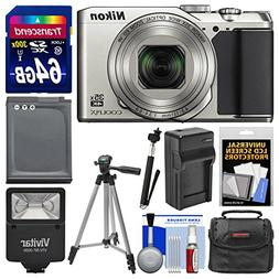 Nikon Coolpix A900 Camera  + 64GB Card