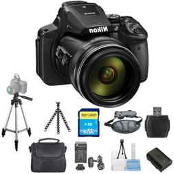 Nikon COOLPIX P900 16MP Digital Camera  STARTER BUNDLE BRAND