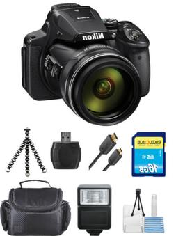 Nikon COOLPIX P900 Digital Camera  STARTER BUNDLE BRAND NEW