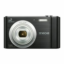 Sony Cyber-shot 20.1MP Digital Point and Shoot Camera Black