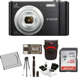 Sony Cyber-shot W800 Compact Digital Camera  with Deluxe Acc