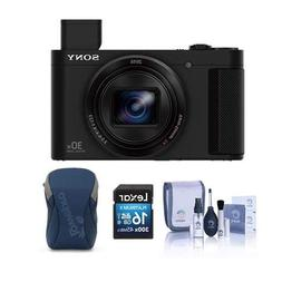 Sony Cybershot DSC-HX80 Digital Camera, Black - Bundle with