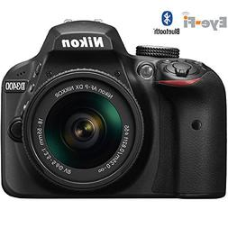 Nikon D3400 Digital SLR Camera & 18-55mm VR DX AF-P Zoom Len