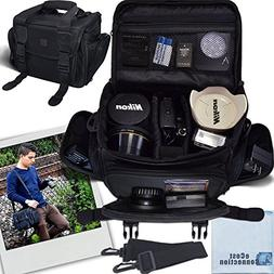 eCost 1 Deluxe Digital Camera, Camcorder/Video Padded Carryi