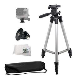 "Deluxe 50"" Tripod with Built in Bubble Level Indicator + GoP"