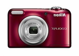 Nikon digital camera COOLPIX A10 Red 5x optical zoom 16,140,