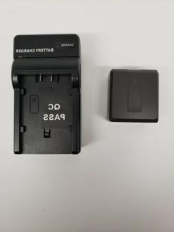 Digital Video Camera Battery Compact Travel Charger - Panaso