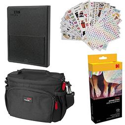 "Kodak Dock Paper Cartridge Bundle + Deluxe Case + 4x6"" Album"
