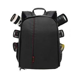 DSLR Camera Backpack Shoulder Bag Compact Photograph Waterpr