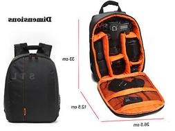 DSLR Compact Backpack Camera Bag For Canon EOS 1300D 6D 750D
