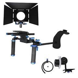 Kimorikisei DSLR Rig Movie Kit for Canon Nikon Sony and Othe