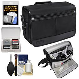 Nikon DSLR Camera/Tablet Messenger Shoulder Bag with Accesso