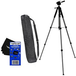 "75"" Pro Elite Series Photo/video Tripod & Deluxe Soft Carryi"