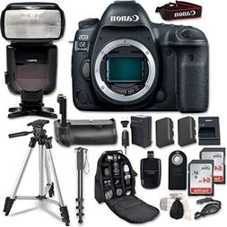 Canon EOS 5D Mark IV Digital SLR Camera Bundle  + Profession