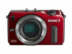Canon EOS M Compact System Camera -Red- Body Only Internatio