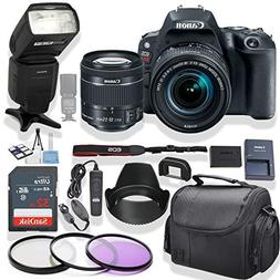 Canon EOS Rebel SL2 DSLR Camera 18-55mm Lens  Kit + Speed Li