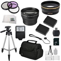 Essentials Accessory Package for Canon EOS Rebel T3 , T5 , T