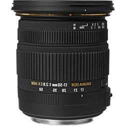 Sigma 17-50mm f/2.8 EX DC OS HSM Zoom Lens for Canon DSLRs w
