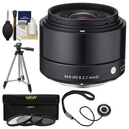 Sigma 19mm f/2.8 EX DN Art Lens with 3 UV/CPL/ND8 Filters +