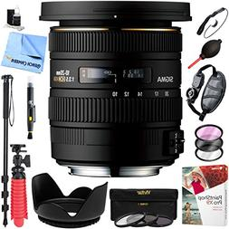 Sigma 10-20mm f/3.5 EX DC HSM Wide Angle Zoom Lens for Nikon